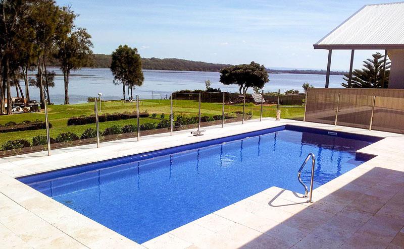 Inground Concrete Swimming Pool