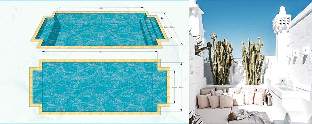 Build pool on an empty block