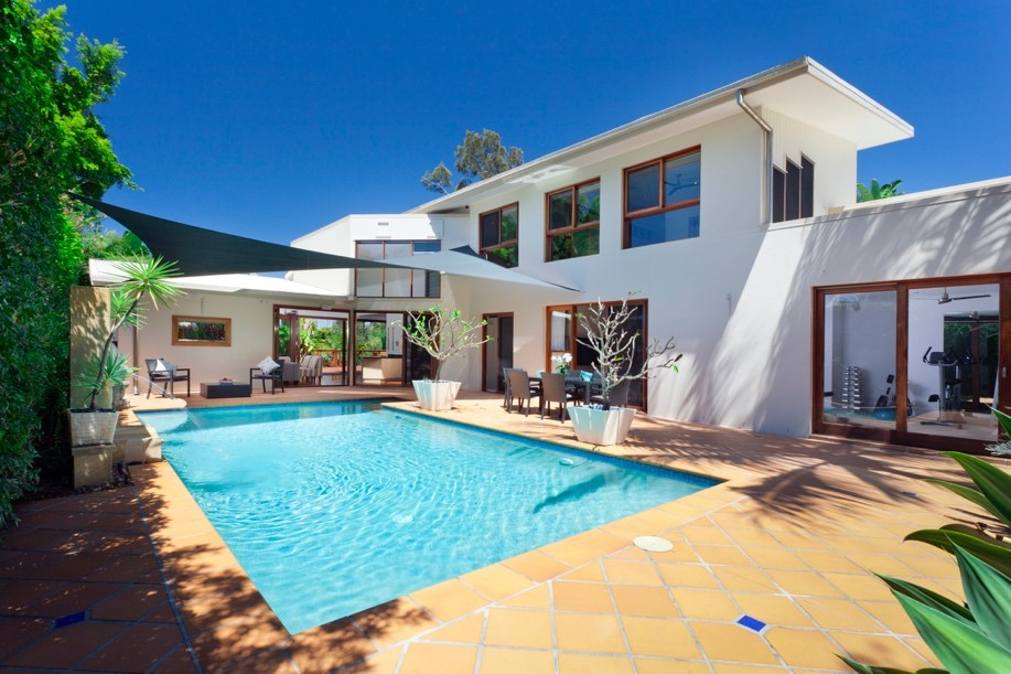 Timber - Stone Pool Surrounds