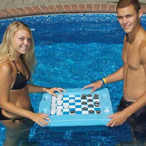 Swimline Floating Pool Game board