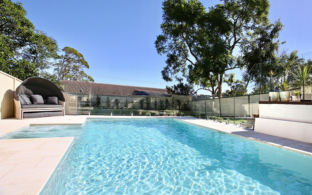 Mineral Pool in Padstow Heights built by Blue Haven Pools