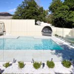 Sydney Swimming Pool with glass fence