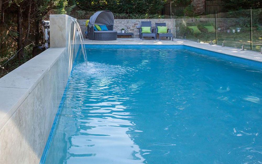 Concrete Swimming Pool in Lan Cove Sydney