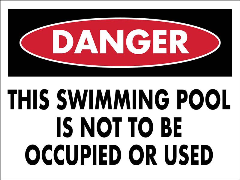 Danger Alert for Pool